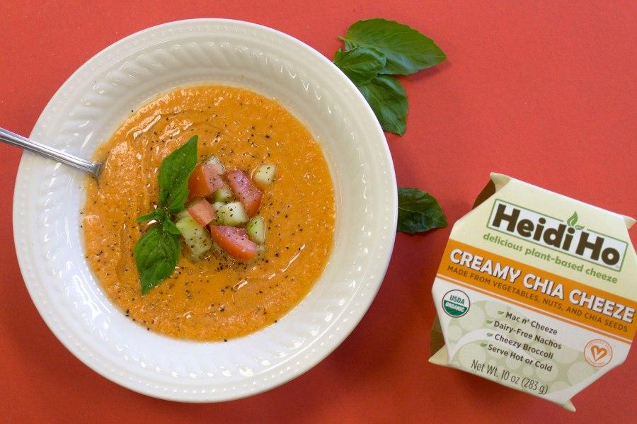 Creamy Tomato Gazpacho
